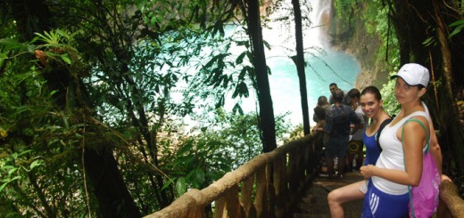 Adventure trip to Rio Celeste Costa Rica
