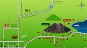 Arenal hotels map