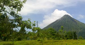 La Fortuna lot ready to build
