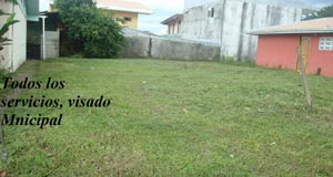 Lot near downtown La Fortuna