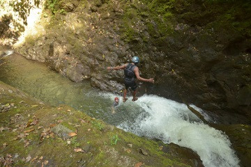 Arenal Gravity Falls Waterfall Jumping