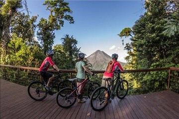 Arenal MTB Tour for advanced